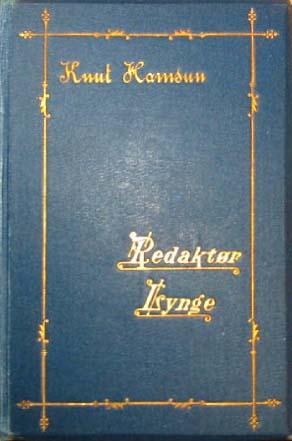 Knut Hamsun Redaktør Lynge 1893