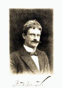 knut Hamsun Lindener Munchen 1899 16x25